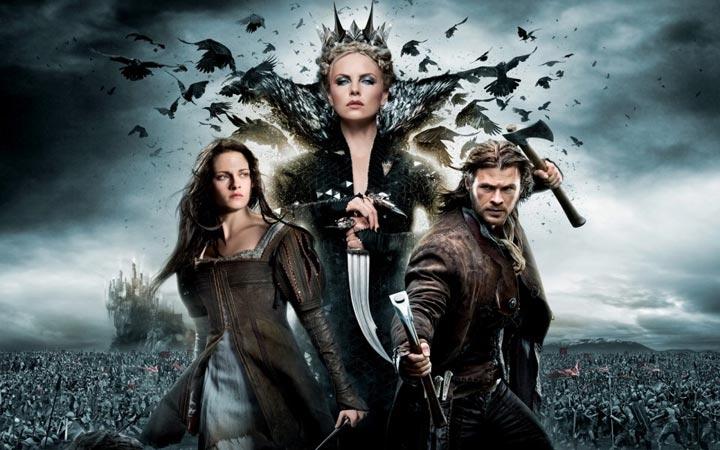 看电影学英语 白雪公主与猎人 -悦读